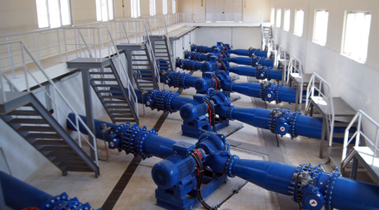 Aydın Drinking Water Main Transmission Line Pump Station